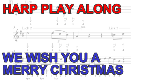 Collections of Free Christmas Harmonica Tabs, - Easy DIY Christmas Decorations