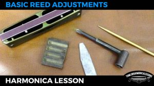 How to do basic reed adjustments for overblows on harmonica