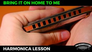 Bring It On Home To Me – Sonny Terry Blues Harmonica Lesson on A harmonica + Free harp tab